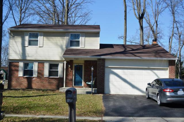 789 Mcdonell Drive, Gahanna, OH 43230 (MLS #218006885) :: Berkshire Hathaway Home Services Crager Tobin Real Estate
