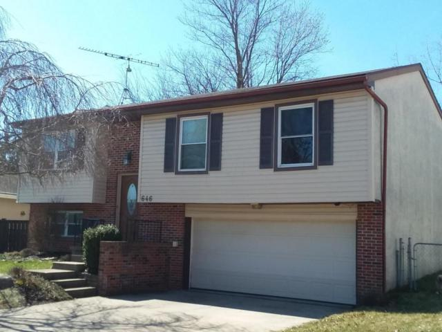 646 Wagon Wheel Lane, Marysville, OH 43040 (MLS #218008134) :: The Clark Group @ ERA Real Solutions Realty