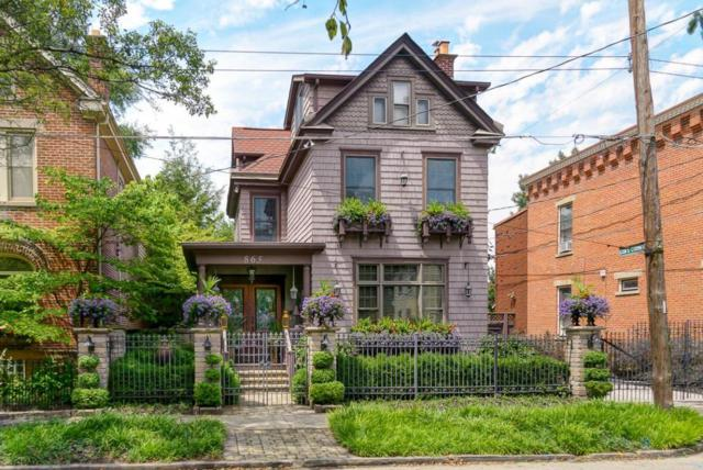 865 Ebner Street, Columbus, OH 43206 (MLS #218008736) :: Berkshire Hathaway HomeServices Crager Tobin Real Estate