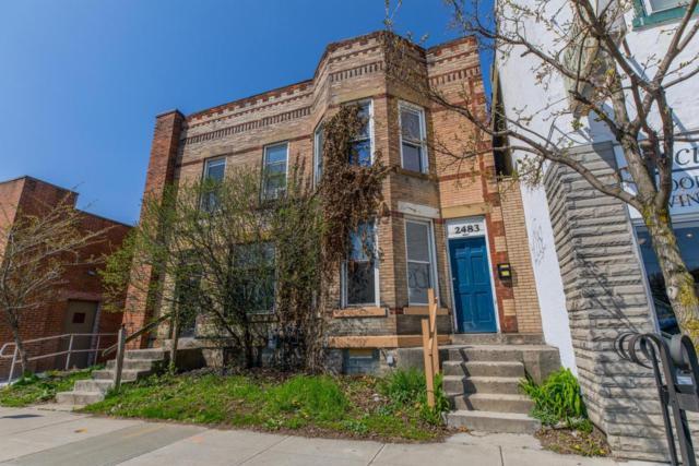 2481-2483 N High Street, Columbus, OH 43202 (MLS #218013556) :: Berkshire Hathaway HomeServices Crager Tobin Real Estate