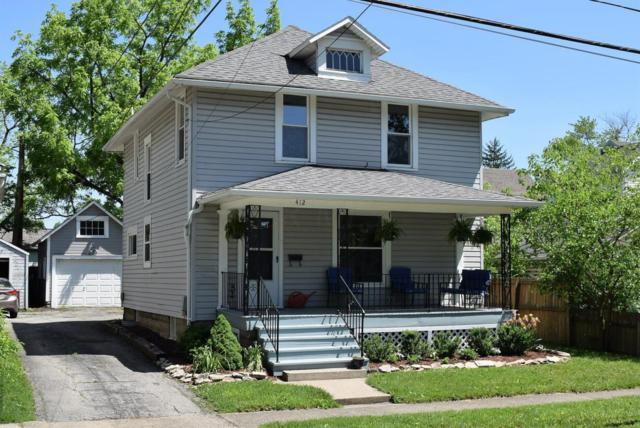 412 W 6th Street, Marysville, OH 43040 (MLS #218018226) :: The Clark Group @ ERA Real Solutions Realty
