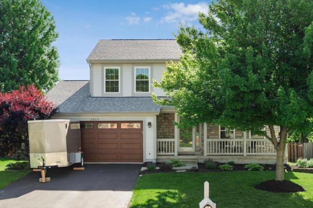2824 Westrock Drive, Hilliard, OH 43026 (MLS #218018300) :: The Clark Group @ ERA Real Solutions Realty