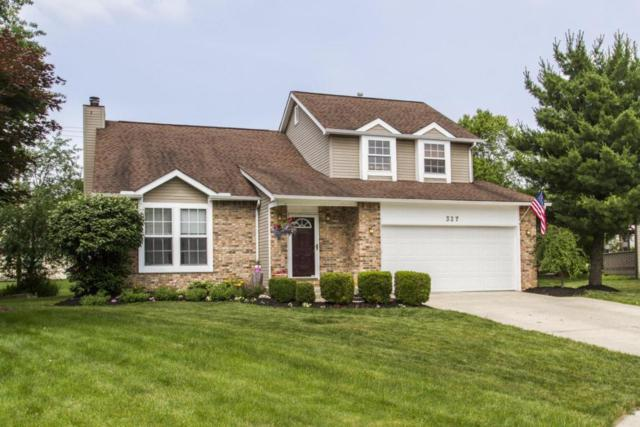 327 Mulberry Way W, Westerville, OH 43082 (MLS #218021727) :: The Columbus Home Team
