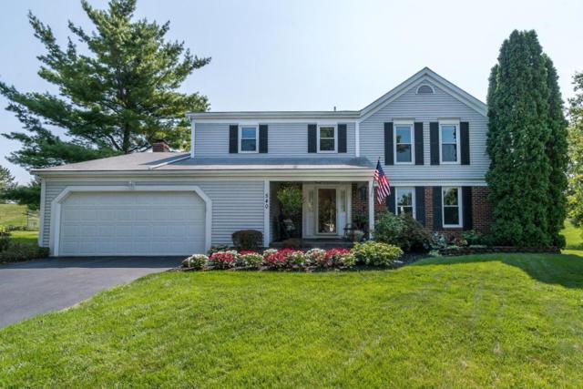 540 Glenside Lane, Powell, OH 43065 (MLS #218030992) :: Signature Real Estate