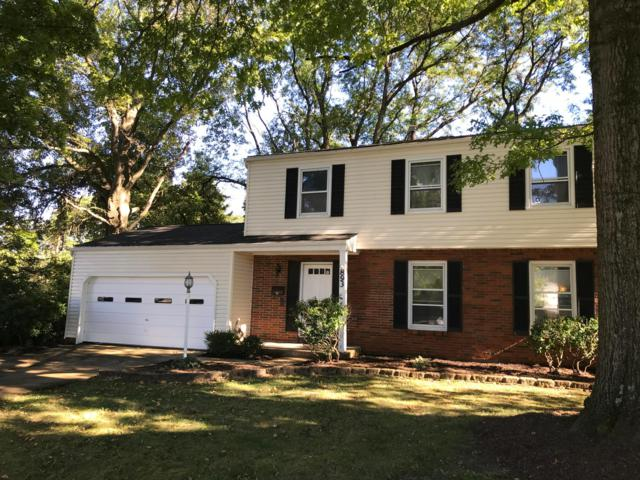893 Kenwyn Court, Columbus, OH 43220 (MLS #218036062) :: The Clark Group @ ERA Real Solutions Realty