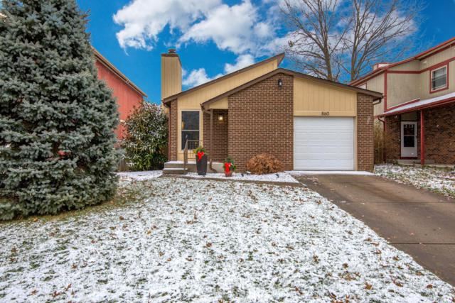 860 Fortunegate Drive, Westerville, OH 43081 (MLS #218043455) :: Berkshire Hathaway HomeServices Crager Tobin Real Estate
