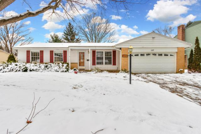 157 Fairdale Avenue, Westerville, OH 43081 (MLS #219001550) :: Brenner Property Group | KW Capital Partners