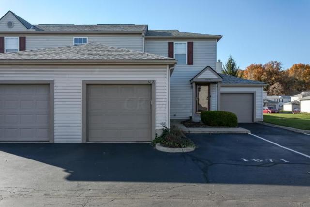 1671 Blackhorse Lane 156E, Hilliard, OH 43026 (MLS #219009898) :: Shannon Grimm & Partners