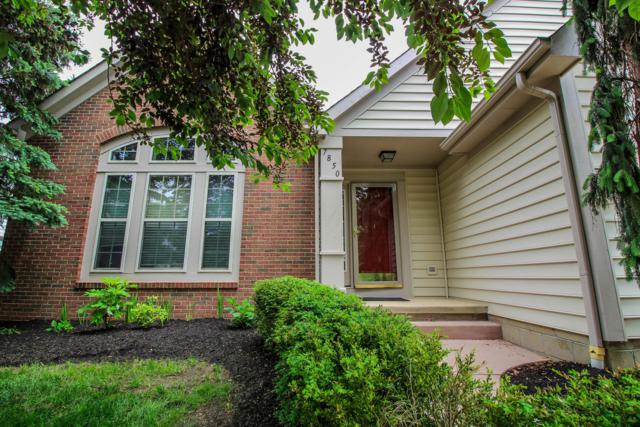 7850 Glenmore Drive, Powell, OH 43065 (MLS #219018178) :: Brenner Property Group | Keller Williams Capital Partners