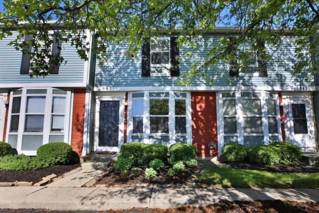 985 Annagladys Drive S2, Worthington, OH 43085 (MLS #219018236) :: Brenner Property Group | Keller Williams Capital Partners