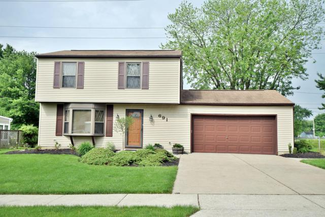 691 Lakeland Drive, Westerville, OH 43081 (MLS #219018655) :: Signature Real Estate