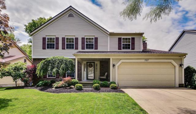 727 Suntree Drive, Westerville, OH 43081 (MLS #219018703) :: Signature Real Estate