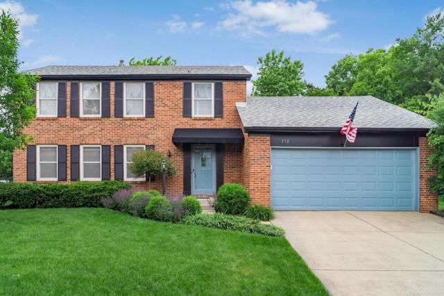 712 Hunters Run, Columbus, OH 43230 (MLS #219019199) :: Huston Home Team
