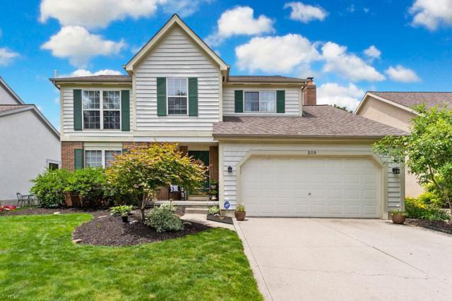209 Bluestone Court, Westerville, OH 43081 (MLS #219022195) :: Brenner Property Group   Keller Williams Capital Partners