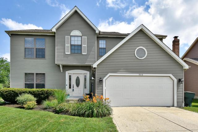 866 Suntree Drive, Westerville, OH 43081 (MLS #219024943) :: The Raines Group