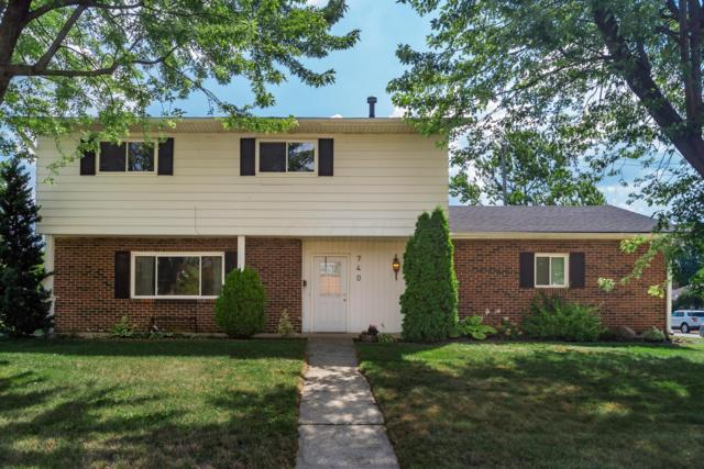 740 Brisbane Avenue, Westerville, OH 43081 (MLS #219029578) :: Keith Sharick | HER Realtors