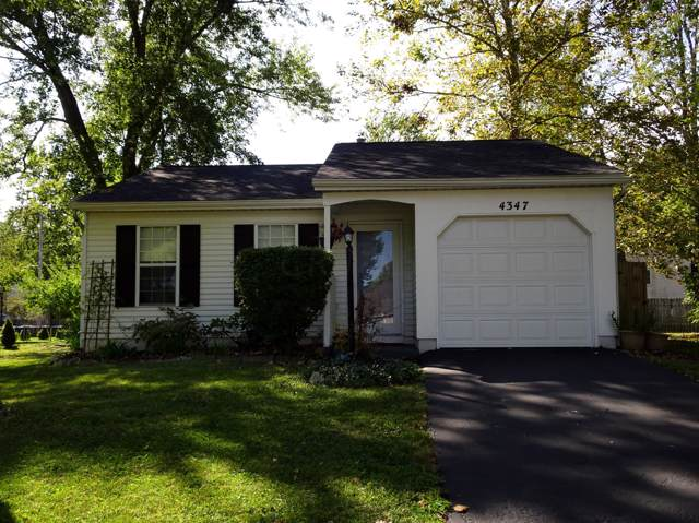 4347 Lawn Place, Westerville, OH 43081 (MLS #219036767) :: Signature Real Estate