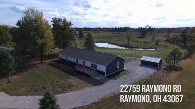 22759 Raymond Road, Raymond, OH 43067 (MLS #219039079) :: Berkshire Hathaway HomeServices Crager Tobin Real Estate