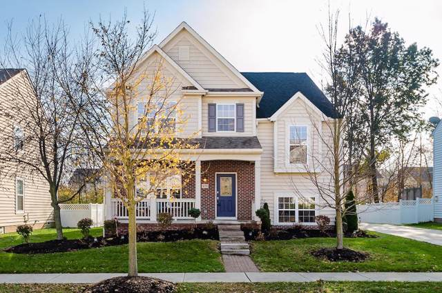 671 Stonefield Drive, Westerville, OH 43082 (MLS #219043435) :: Berrien | Faust Group