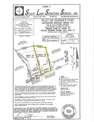 0 Marysville Road Tract 7B, Ostrander, OH 43061 (MLS #219044909) :: CARLETON REALTY