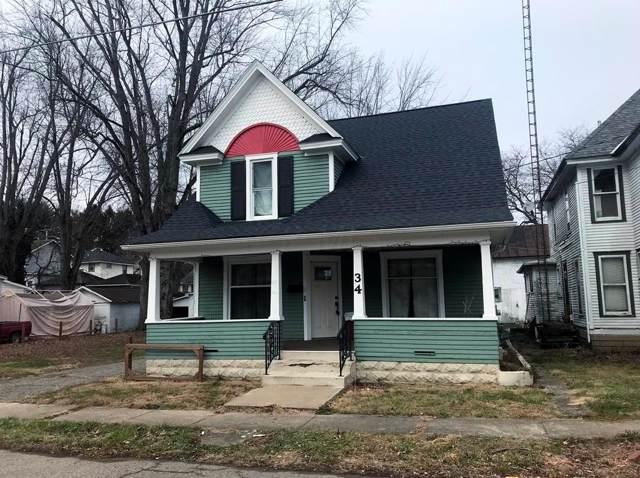34 W College Street, Fredericktown, OH 43019 (MLS #219046012) :: Sam Miller Team
