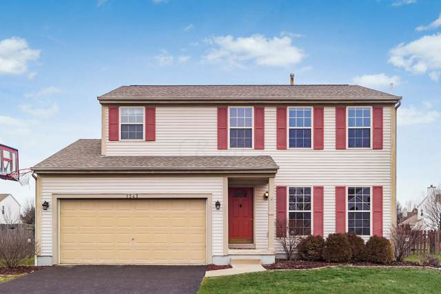 1545 Cottonwood Drive, Lewis Center, OH 43035 (MLS #220002246) :: RE/MAX ONE