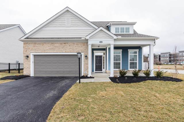 5730 Adalyn Lane, Dublin, OH 43016 (MLS #220005069) :: The KJ Ledford Group