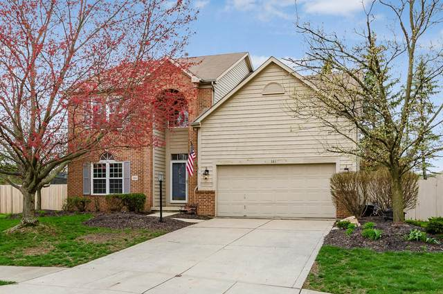 361 Amesbury Court, Westerville, OH 43082 (MLS #220009990) :: Signature Real Estate