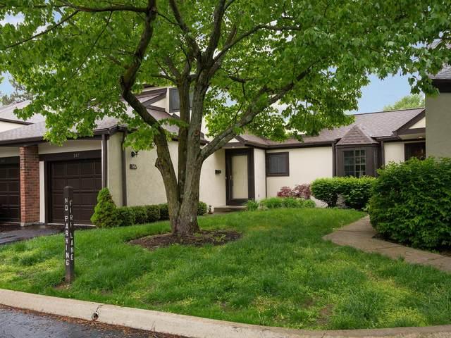 147 Saint Julien Street 24-D, Worthington, OH 43085 (MLS #220015636) :: The Willcut Group