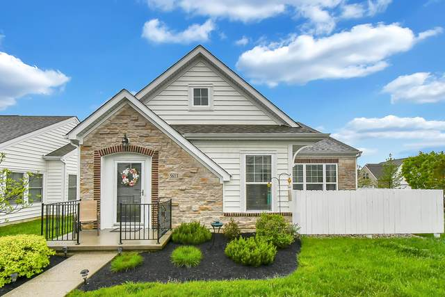 5613 Tumbling Creek Drive #46, Dublin, OH 43016 (MLS #220015704) :: Core Ohio Realty Advisors