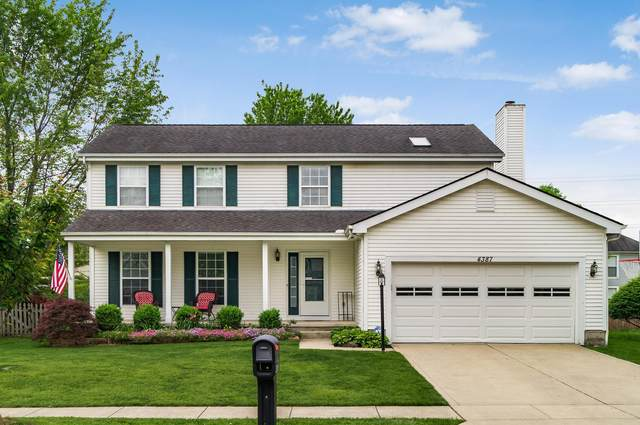 4387 Knickel Drive, Hilliard, OH 43026 (MLS #220016550) :: Berkshire Hathaway HomeServices Crager Tobin Real Estate