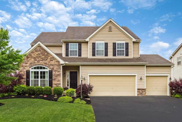 4691 Greyson Drive, Powell, OH 43065 (MLS #220016716) :: The Raines Group