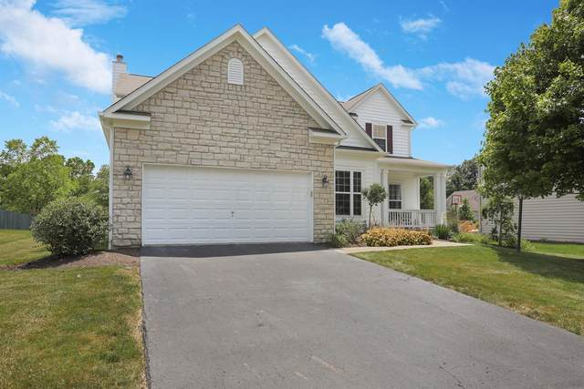 7869 Tree Lake Boulevard, Powell, OH 43065 (MLS #220021260) :: The Jeff and Neal Team   Nth Degree Realty