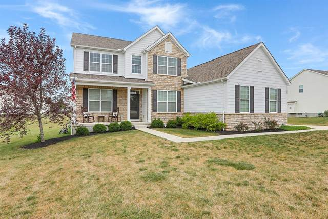 222 Bluegrass Way, Ostrander, OH 43061 (MLS #220025635) :: The Willcut Group
