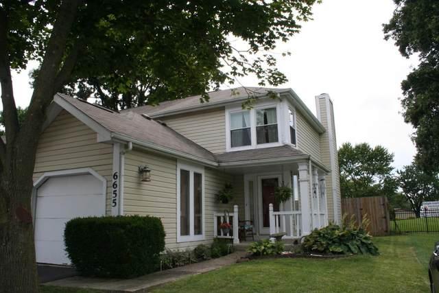 6655 Manring Court, Reynoldsburg, OH 43068 (MLS #220027394) :: The Willcut Group