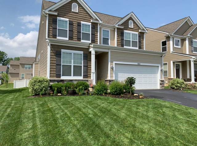 8640 Melton Fields Drive, Blacklick, OH 43004 (MLS #220028989) :: The Willcut Group