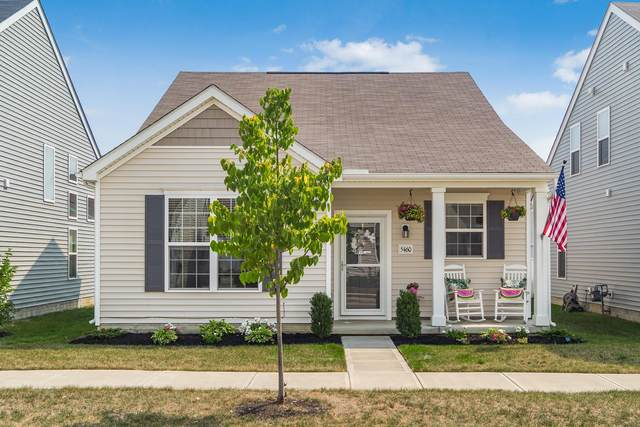 5460 Goose Falls Drive, Dublin, OH 43016 (MLS #220029573) :: The Clark Group @ ERA Real Solutions Realty