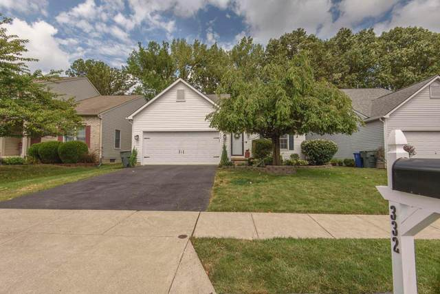 332 Amber Wood Way, Lewis Center, OH 43035 (MLS #220029879) :: Core Ohio Realty Advisors
