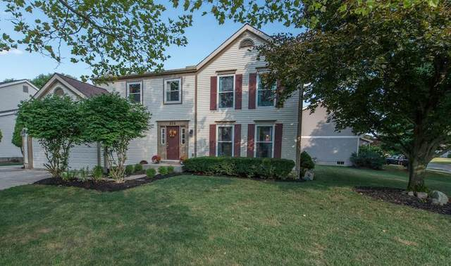 854 Summertree Lane, Westerville, OH 43081 (MLS #220031409) :: CARLETON REALTY