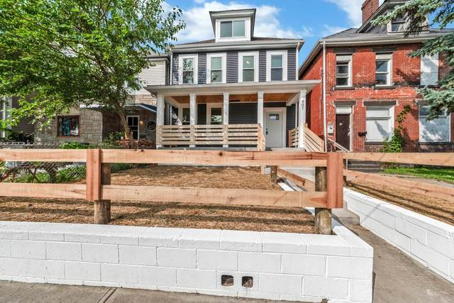 407 Saint Clair Avenue, Columbus, OH 43203 (MLS #220032691) :: The Willcut Group