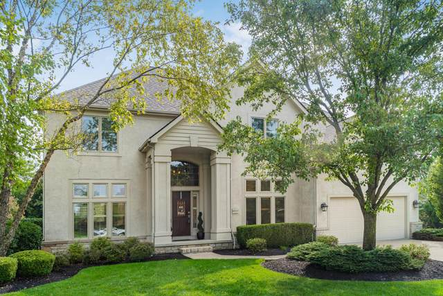 8010 Luckstone Drive, Dublin, OH 43017 (MLS #220032810) :: The Jeff and Neal Team | Nth Degree Realty