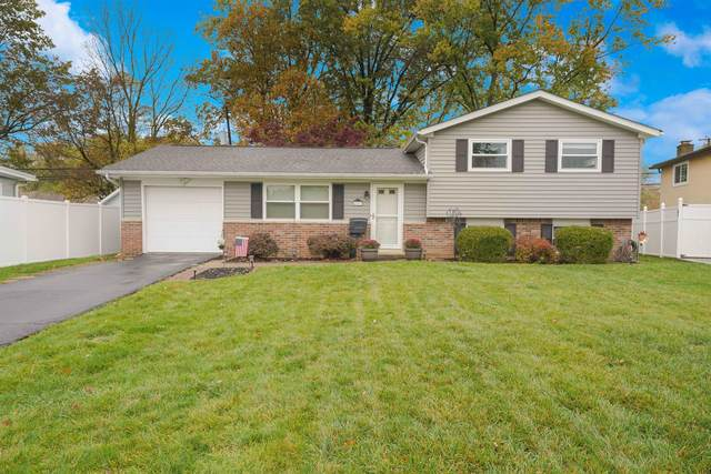 4953 Brittany Court W, Columbus, OH 43229 (MLS #220037281) :: The Holden Agency
