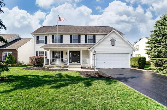 3027 Bohlen Drive, Hilliard, OH 43026 (MLS #220037621) :: The Willcut Group