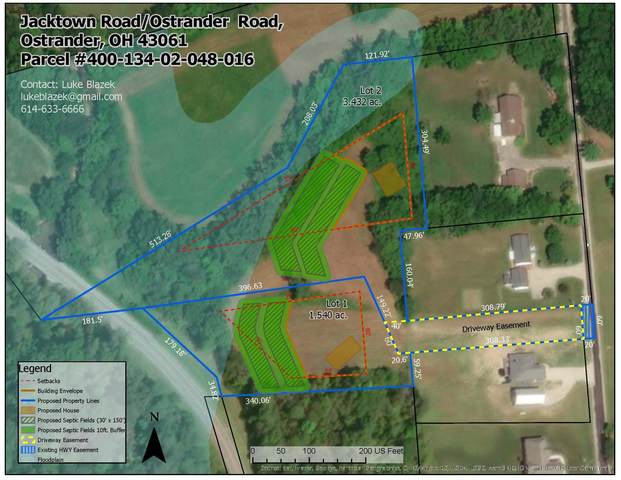 0 Jacktown Road Lot 2, Ostrander, OH 43061 (MLS #220040325) :: Core Ohio Realty Advisors