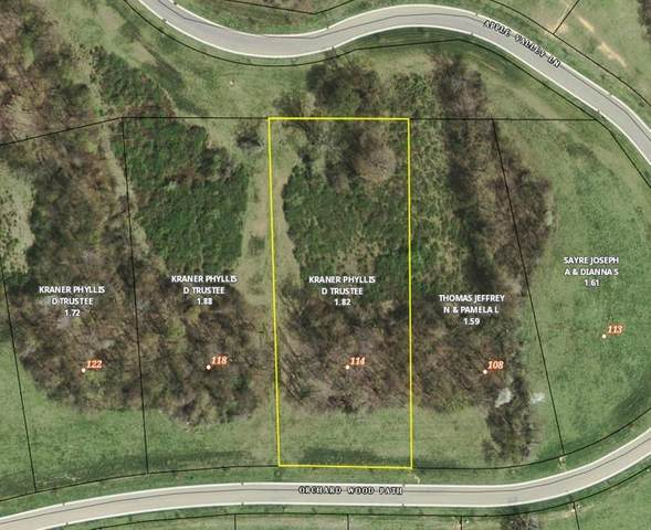 114 Orchard Wood Path, Granville, OH 43023 (MLS #221000831) :: The Holden Agency