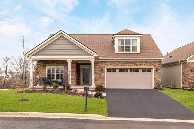 5584 Eventing Way 50-558, Hilliard, OH 43026 (MLS #221001009) :: 3 Degrees Realty