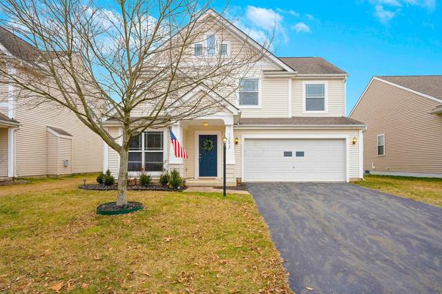 1293 Hickory Valley Drive, Blacklick, OH 43004 (MLS #221001305) :: The Jeff and Neal Team | Nth Degree Realty
