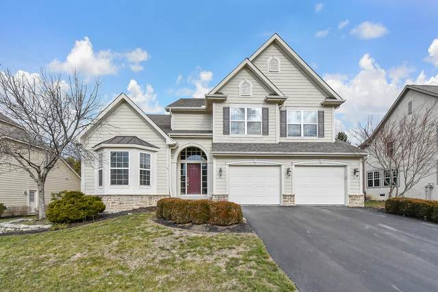606 Matthews Brook Lane, Powell, OH 43065 (MLS #221002145) :: Sam Miller Team