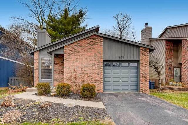 876 Fortunegate Drive, Westerville, OH 43081 (MLS #221002366) :: The Willcut Group