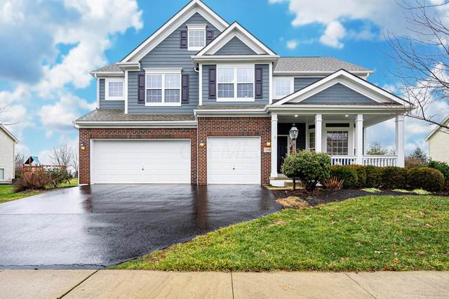 7698 Indian Springs Drive, Powell, OH 43065 (MLS #221002411) :: The Willcut Group